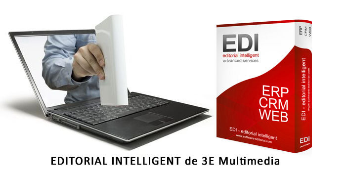 Editorial Intelligent de 3e Multimedia, para gestionar todo el negocio editorial.